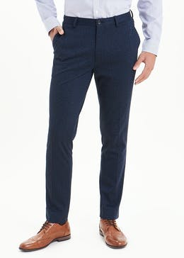 Taylor & Wright Jersey Slim Fit Suit Trousers