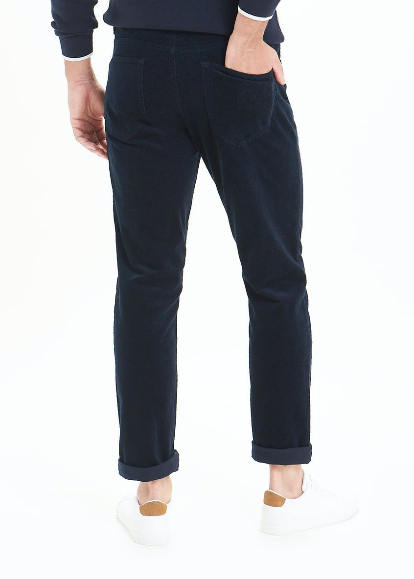 Straight Fit Cord Trousers
