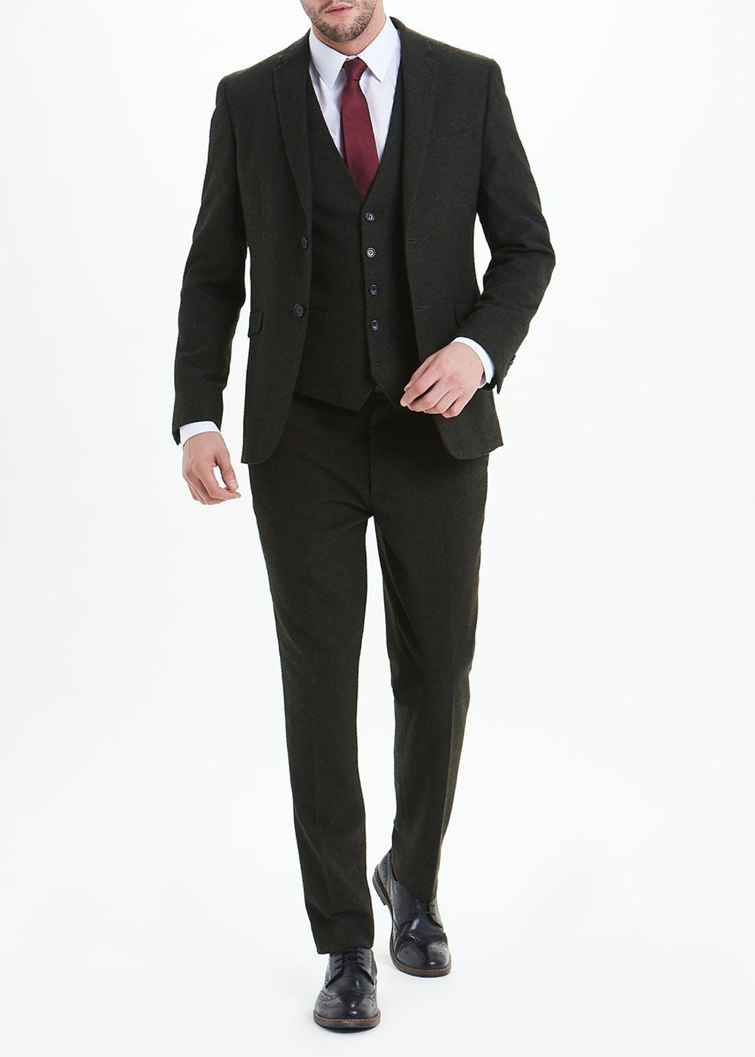 Taylor & Wright Grasmere Slim Fit Suit Trousers