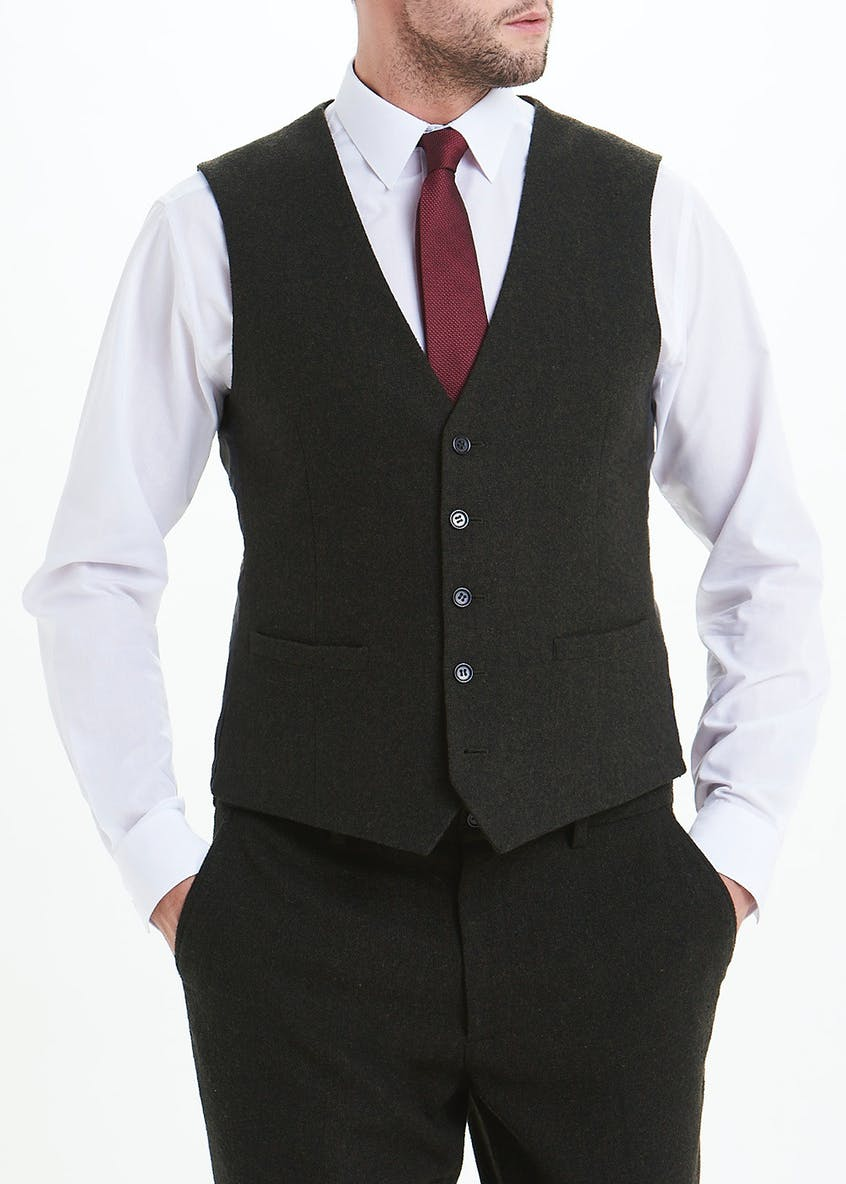 Taylor & Wright Grasmere Slim Fit Suit Waistcoat