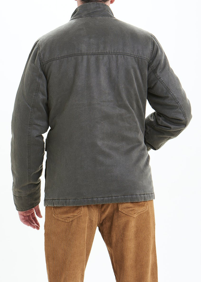 Morley Brown Waxed Utility Jacket