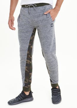 Camo Panel Jogging Bottoms