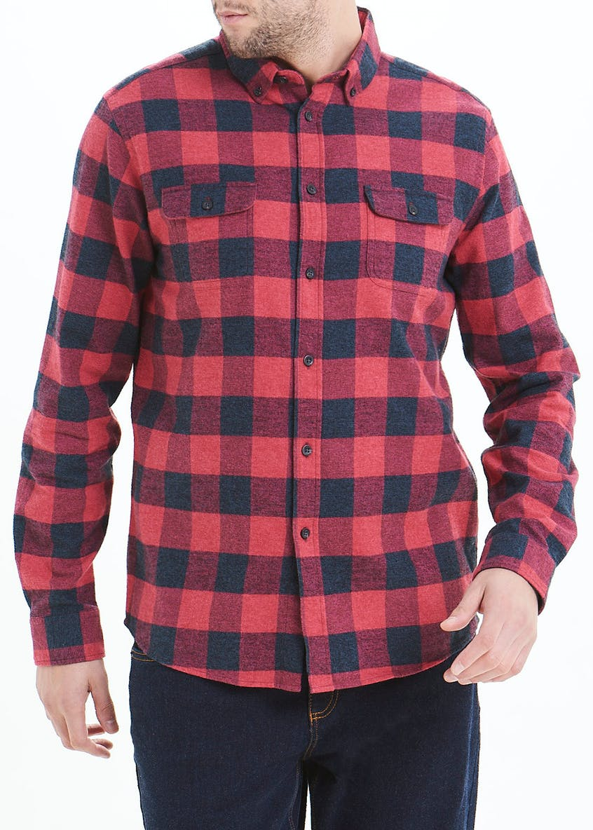 Buffalo Check Long Sleeve Shirt