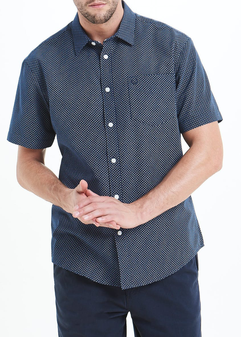 Lincoln Short Sleeve Dotted Shirt