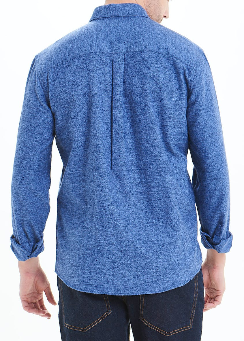 Long Sleeve Brushed Cotton Shirt
