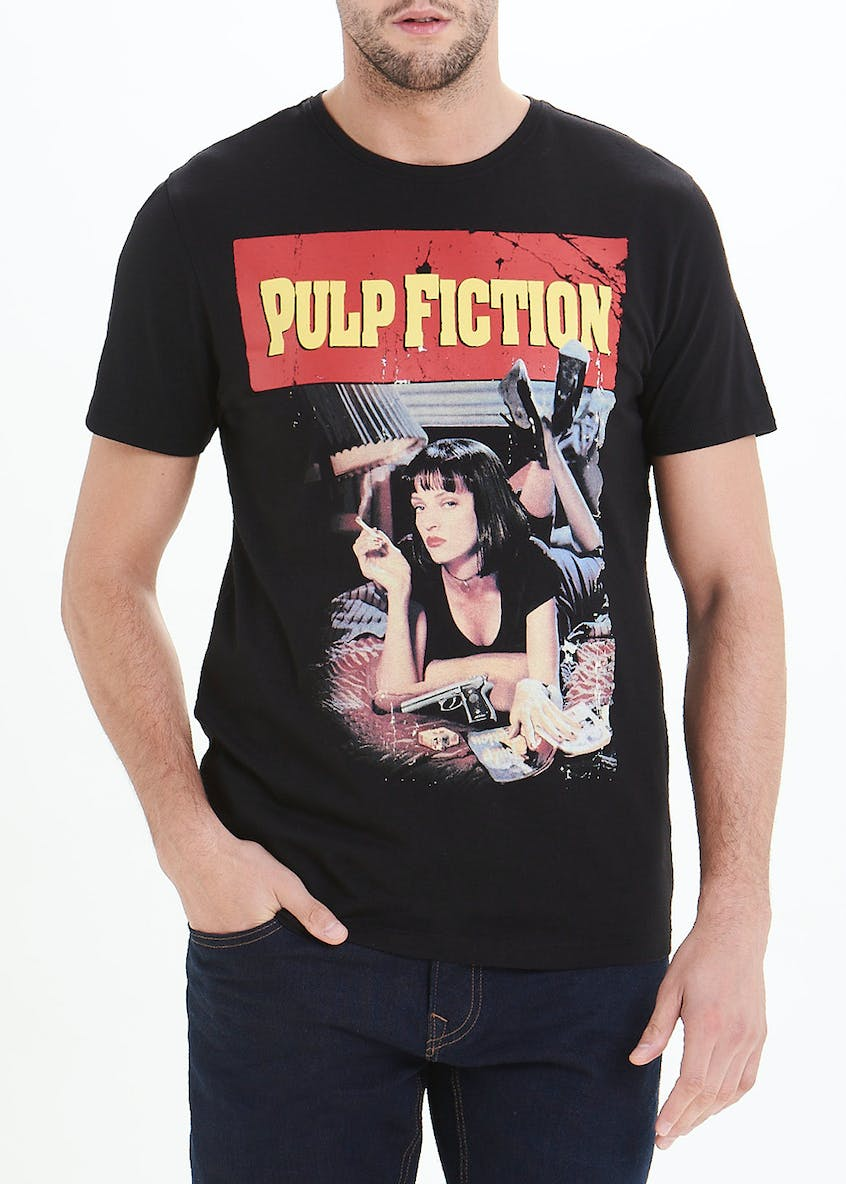 Pulp Fiction Print T-Shirt