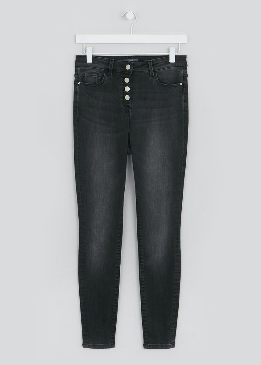 Jessie Button High Waisted Jeans