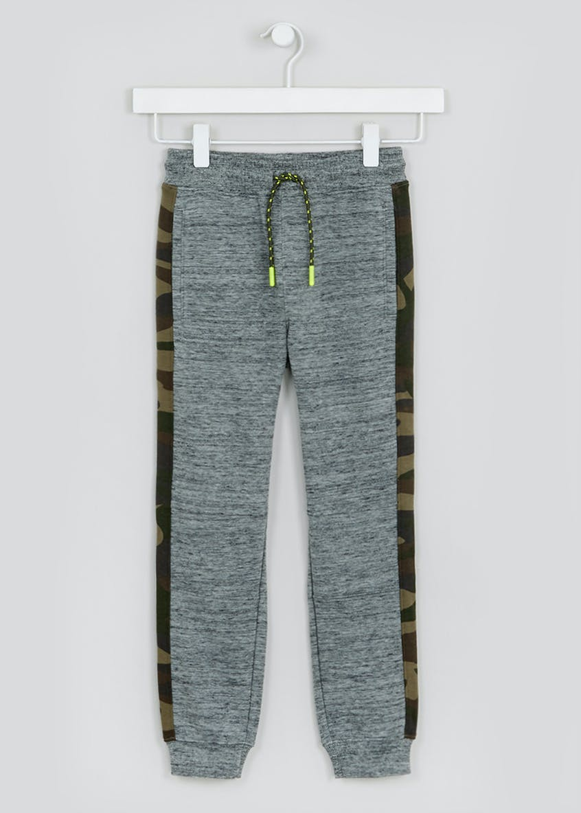 Boys Camo Detail Jogging Pants (4-13yrs)