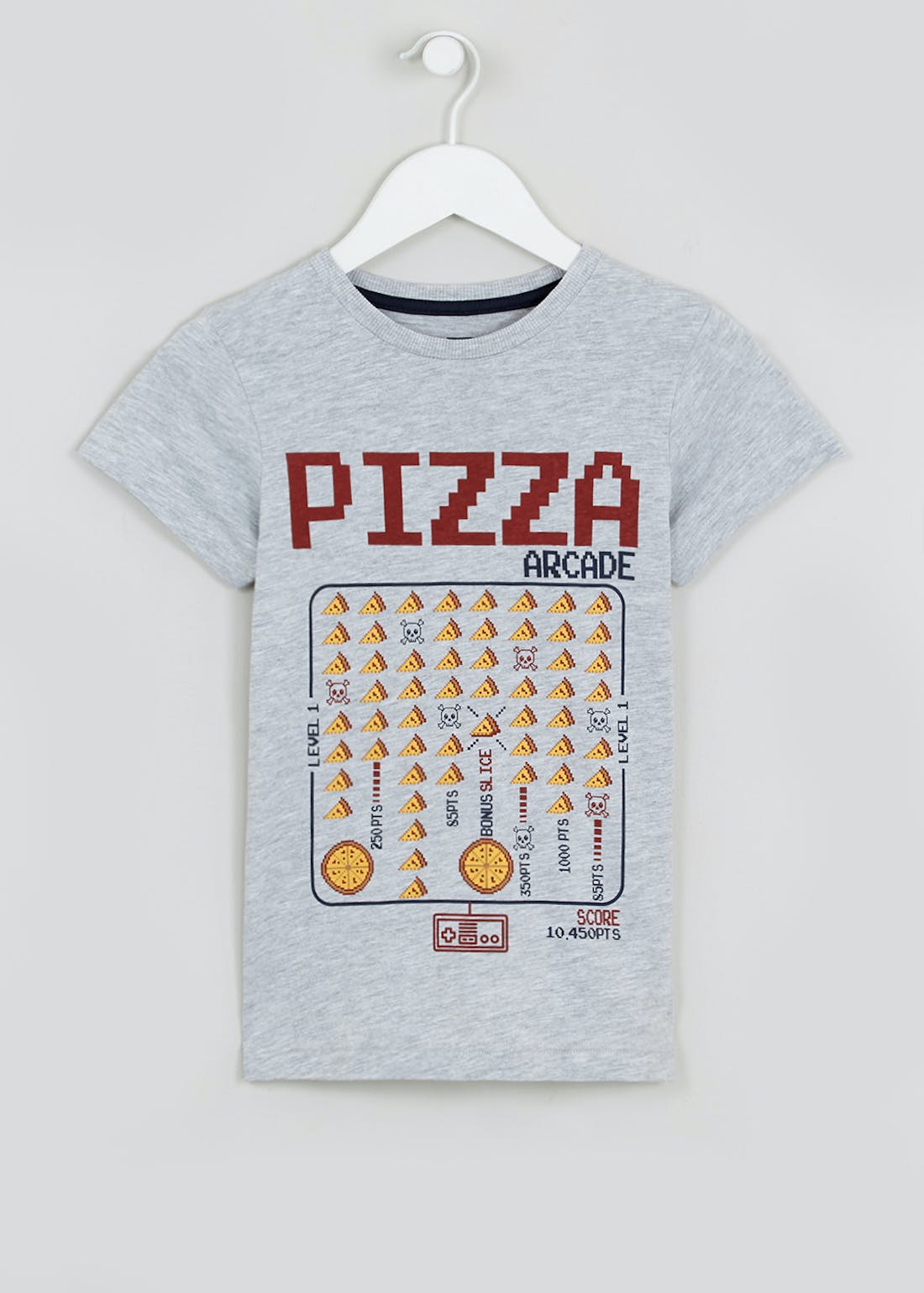 Boys Pizza Slogan T-Shirt (4-13yrs)
