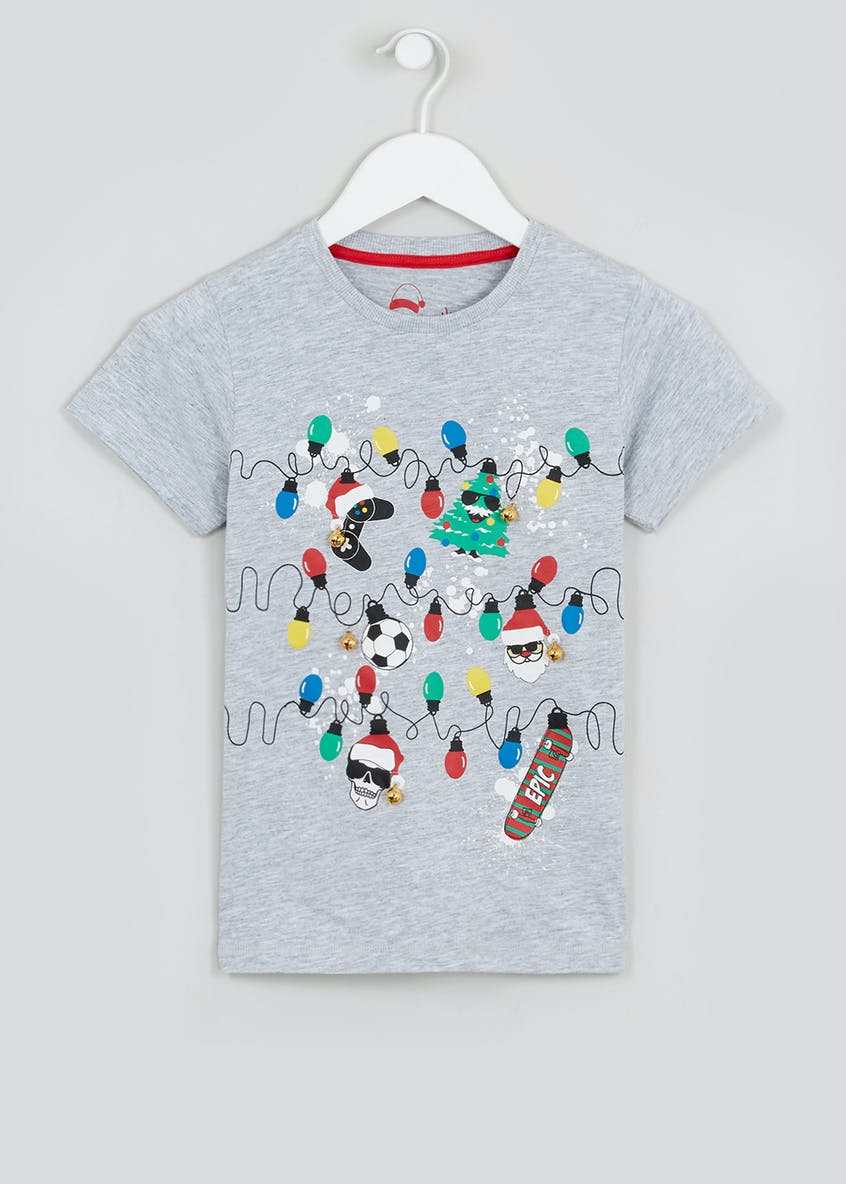 Kids Christmas Lights T-Shirt (4-13yrs)