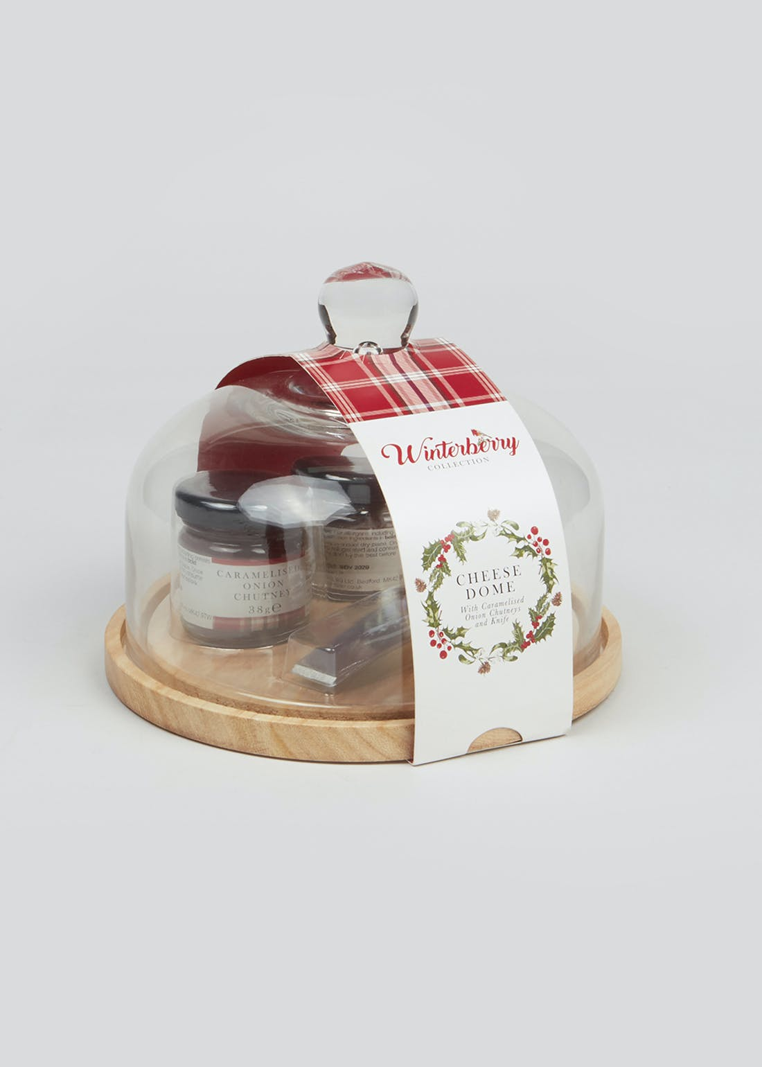 Cheese Board Gift Set (17cm x 17cm x 14cm)