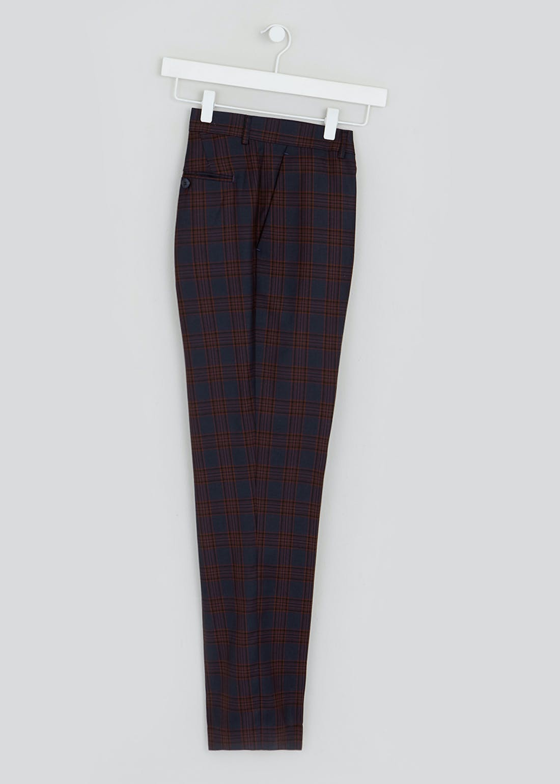 Broken Stitch Coniston Check Suit Trousers