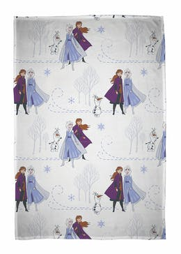 Kids Disney Frozen 2 Fleece Throw Blanket (150cm x 100cm)