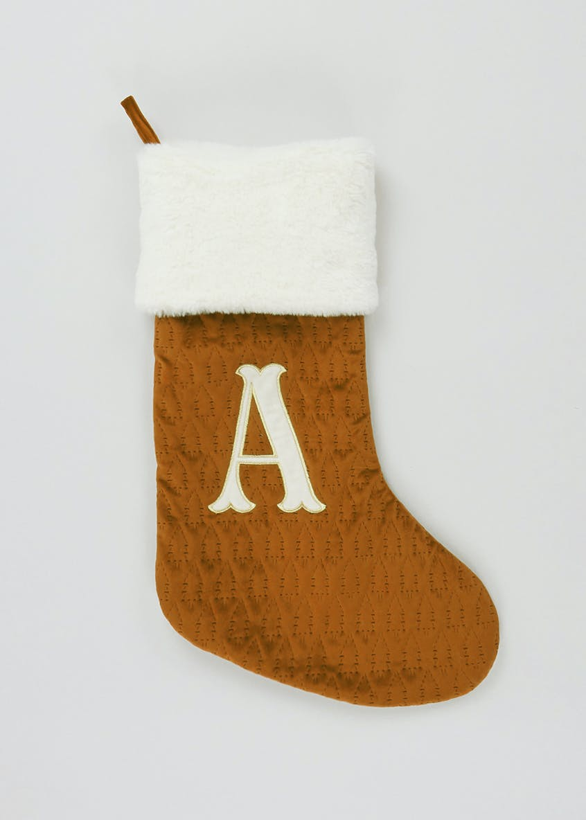 Alphabet Christmas Stocking (51cm x 32cm)
