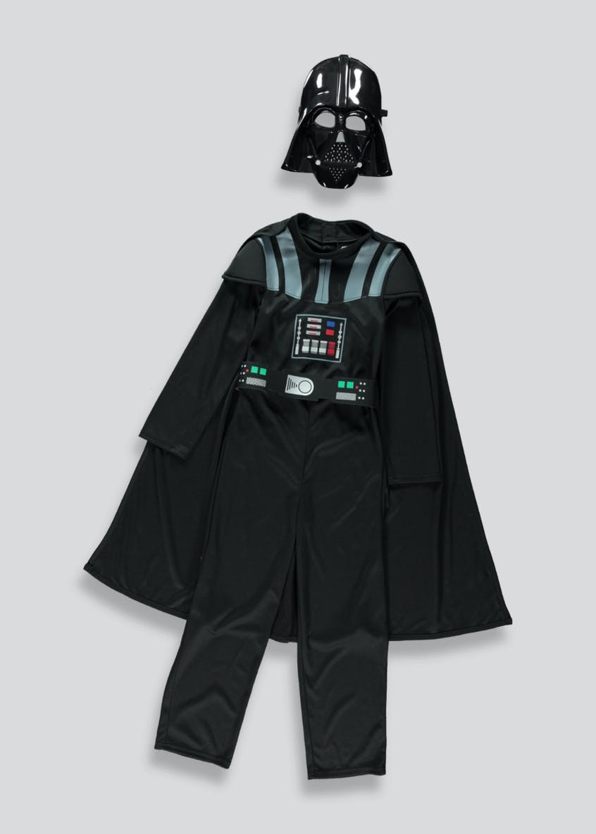 Kids Darth Vader Fancy Dress Costume (3-10yrs)