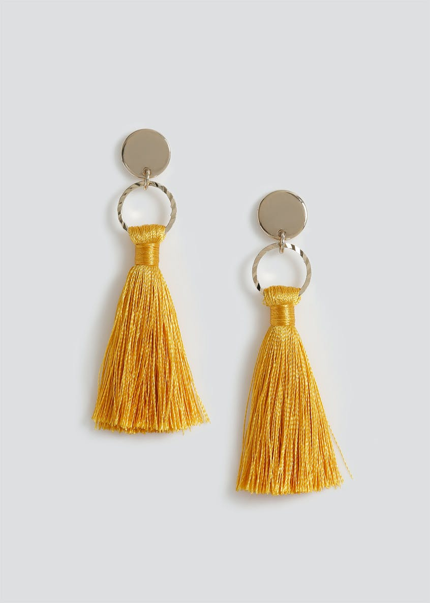 Mini Tassel Earrings.