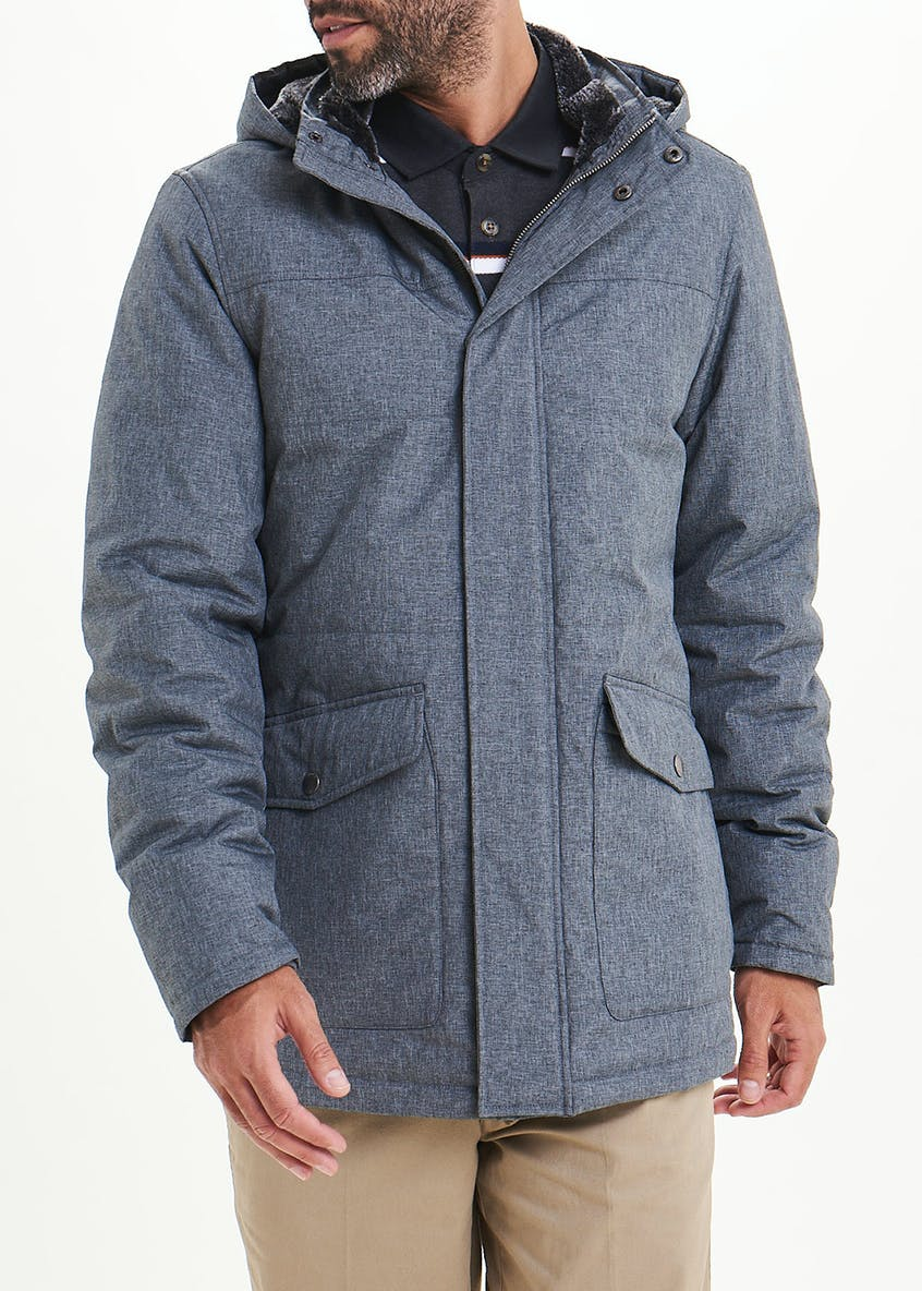 Lincoln Grey Kensington Parka Coat