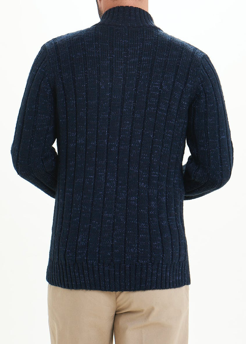 Lincoln Chunky Half Zip Jumper