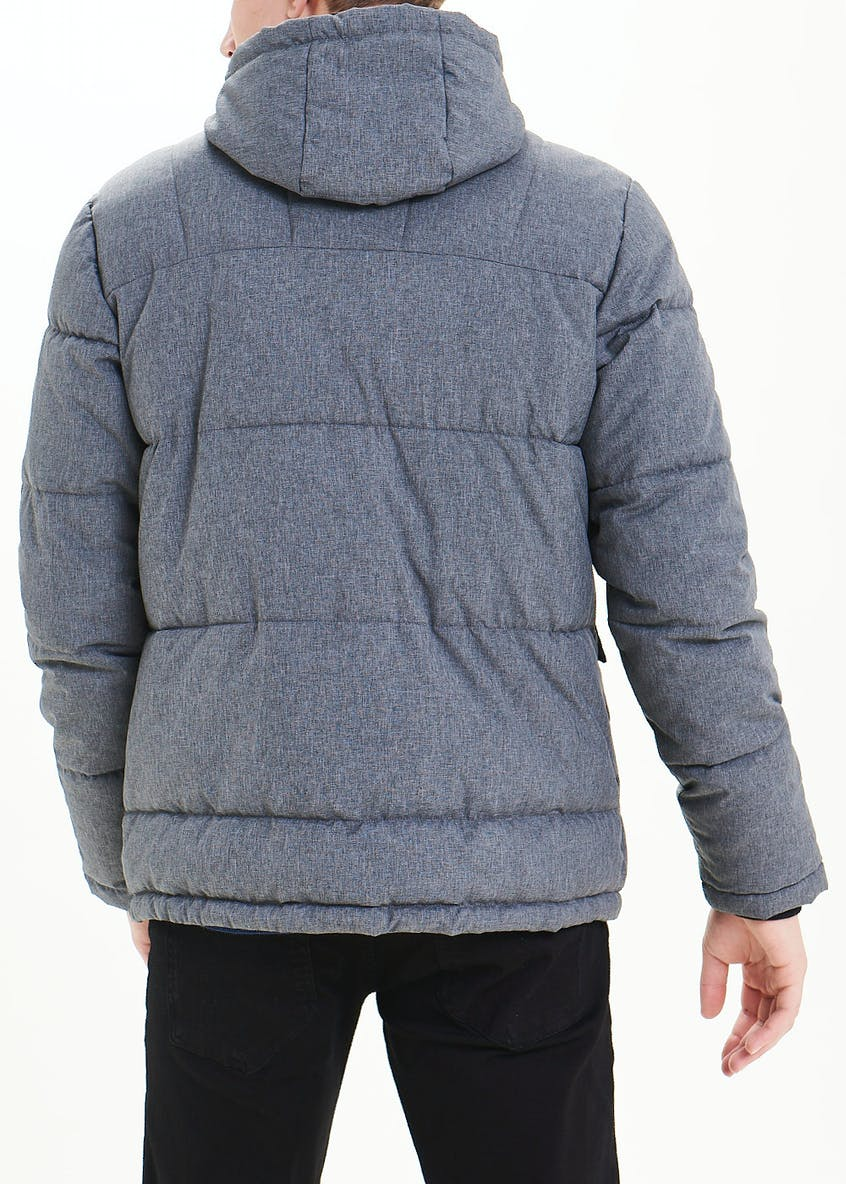 Grey Padded Puffer Jacket
