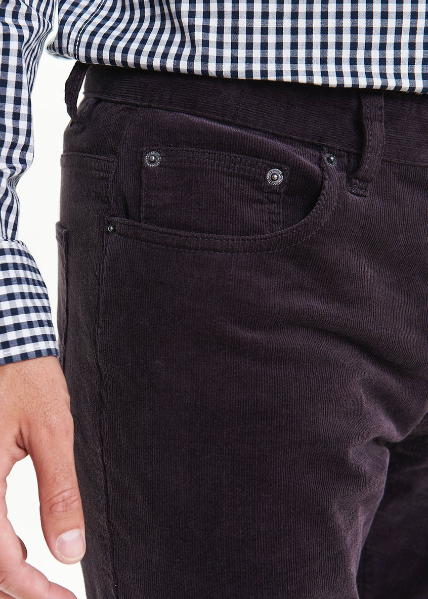 Slim Fit Cord Trousers