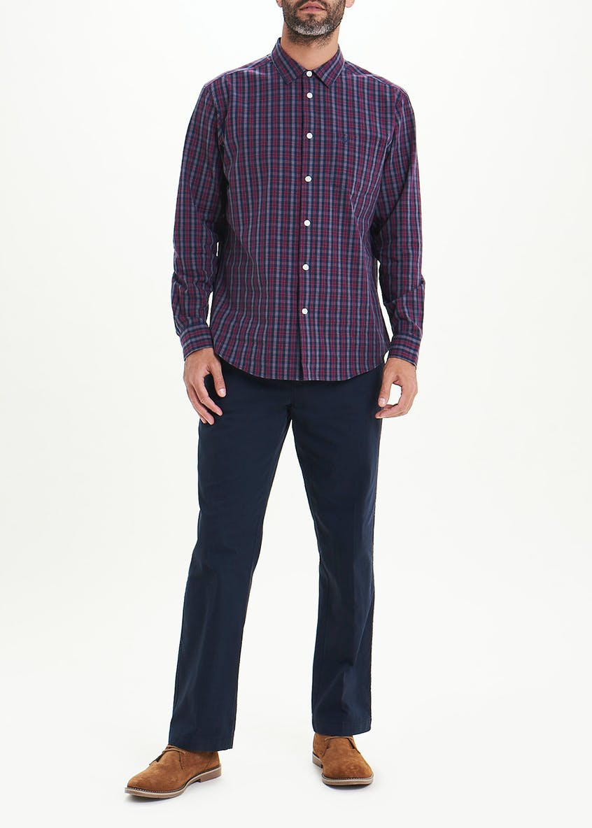 Lincoln Long Sleeve Check Shirt