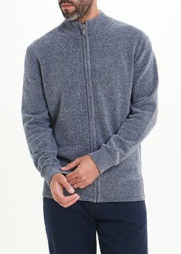 Lincoln Chenille Full Zip Sweater