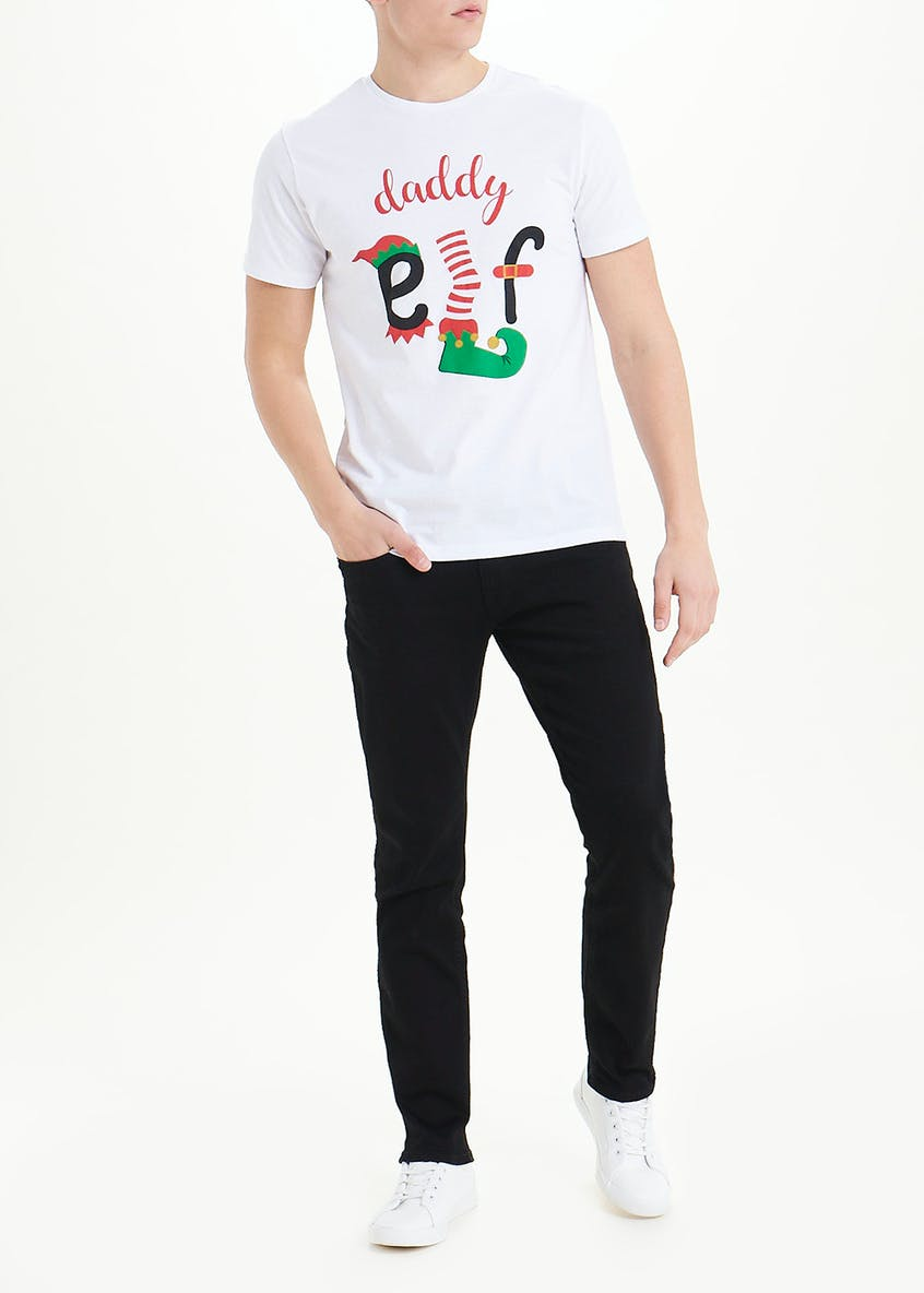Daddy Elf Christmas T-Shirt