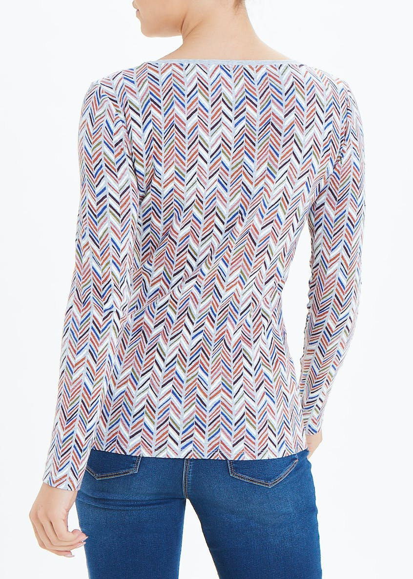 Perfect Chevron Long Sleeve T-Shirt