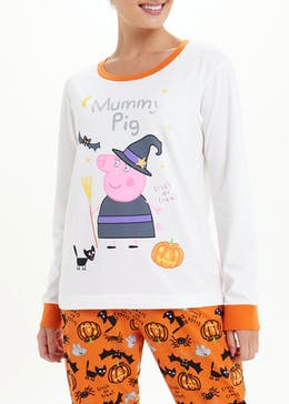 Peppa Pig Mummy Pig Halloween Pyjamas