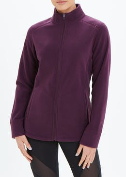 Souluxe Zip Through Fleece