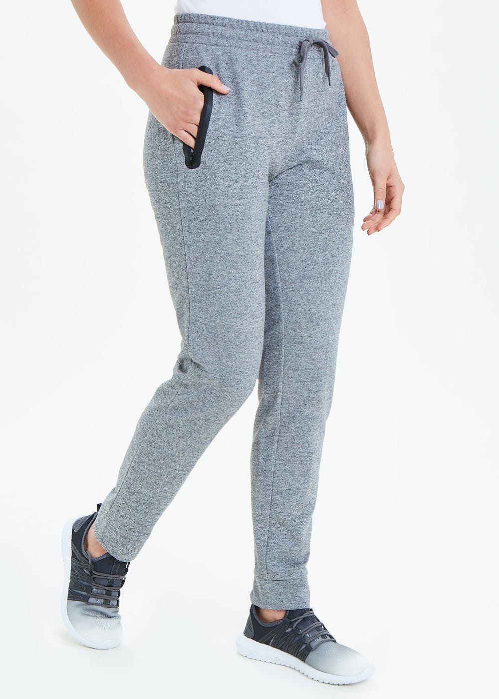 Souluxe Zip Tape Sports Jogging Bottoms by Matalan