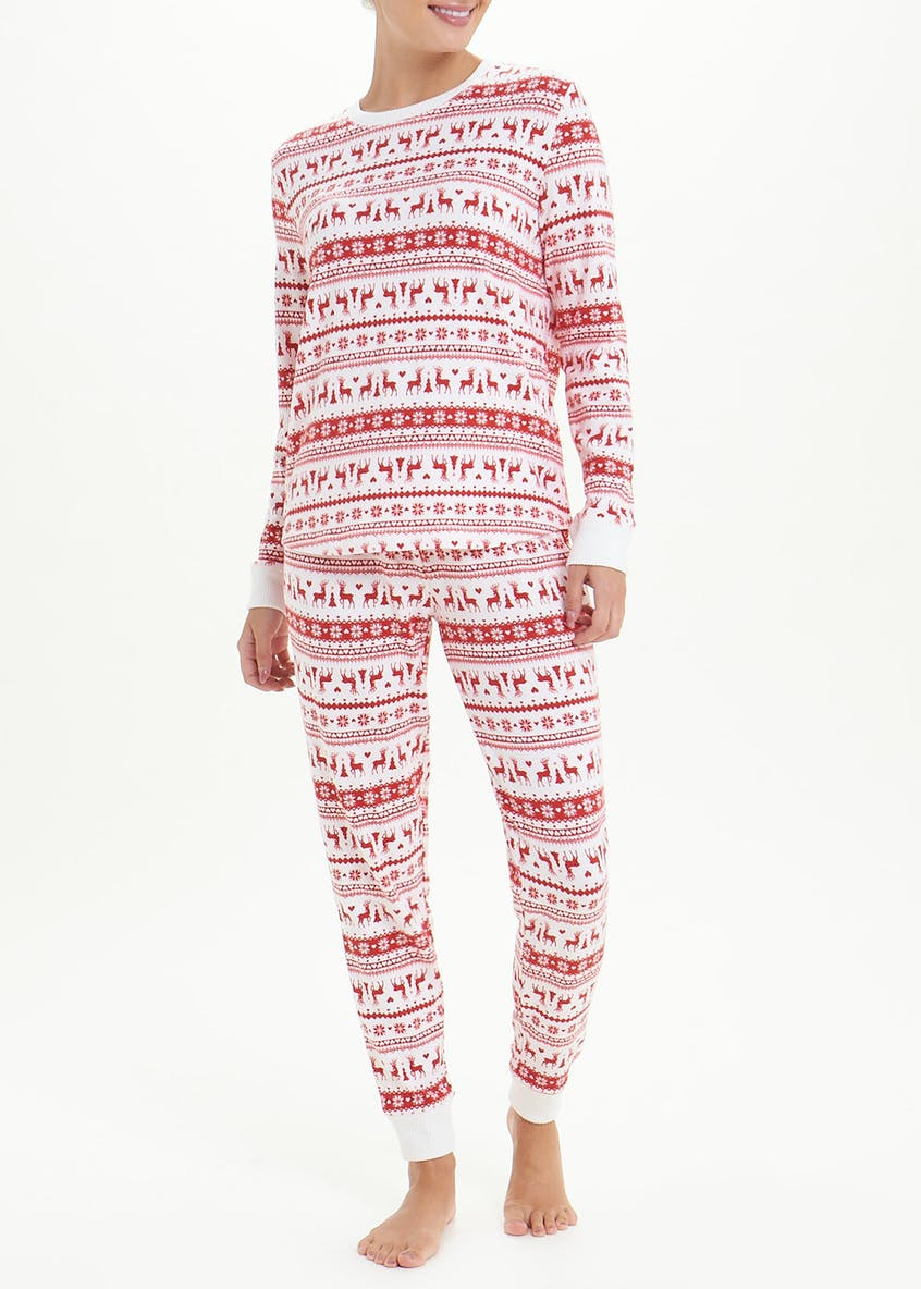 Christmas Fair Isle Pyjama Set