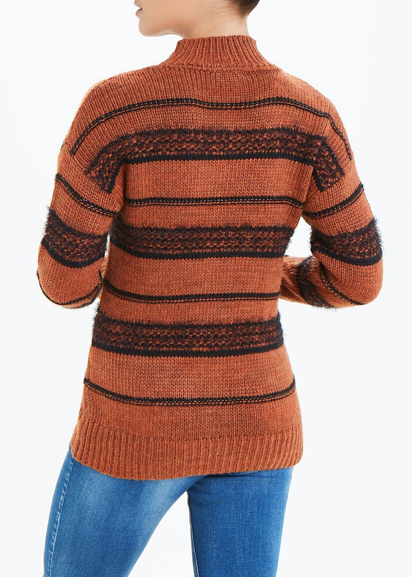 Falmer Sparkle Stripe Jumper