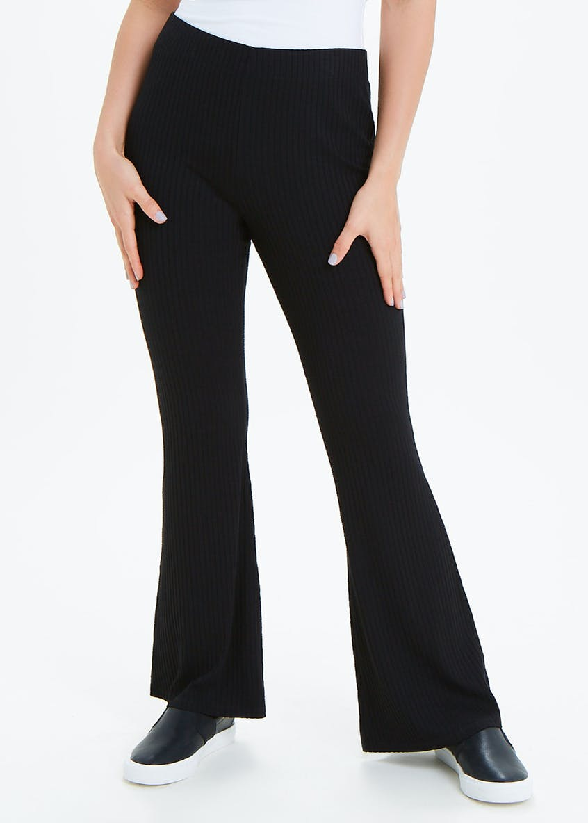 Jersey Ribbed Flares