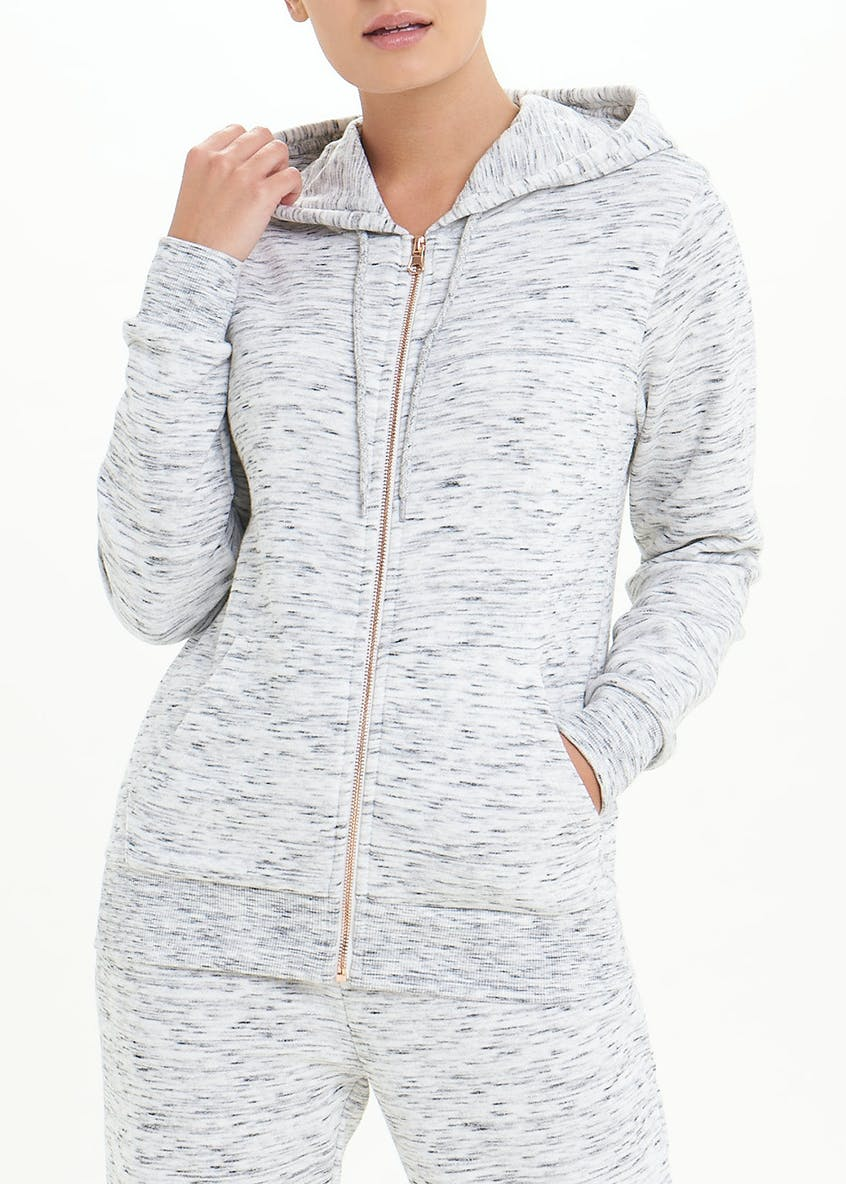 Zip Through Lounge Hoodie