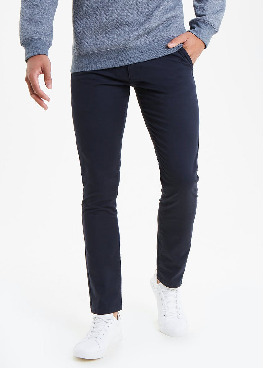 Big & Tall Slim Fit Stretch Chino Trousers
