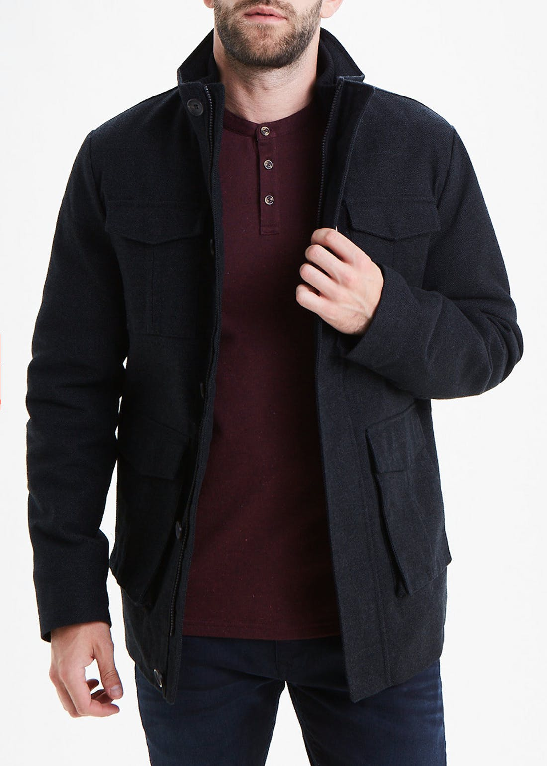 Black Moleskin Jacket