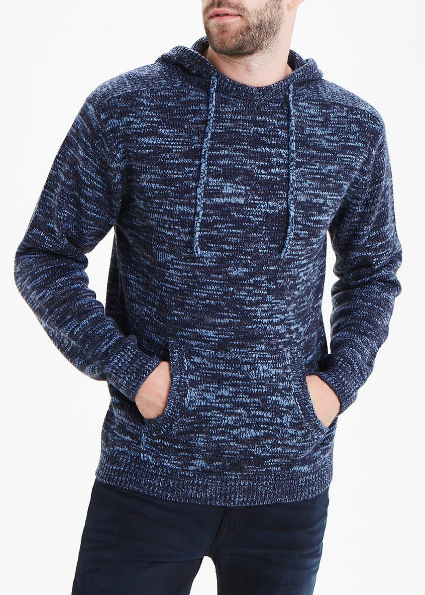 Chunky Knitted Hoodie