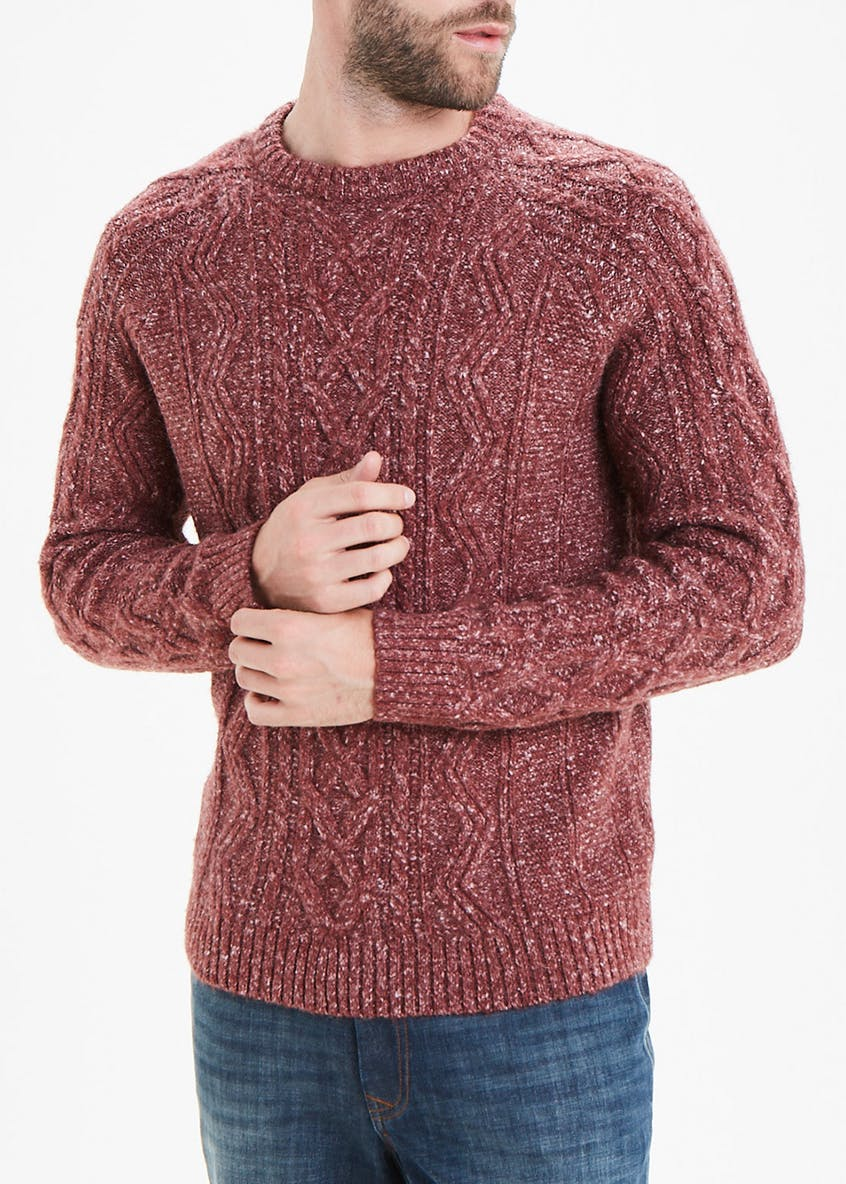 Morley Cable Knit Jumper
