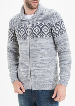 Morley Zip Up Jumper