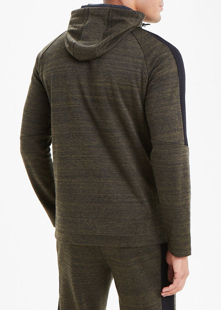 Souluxe Panelled Gym Hoodie