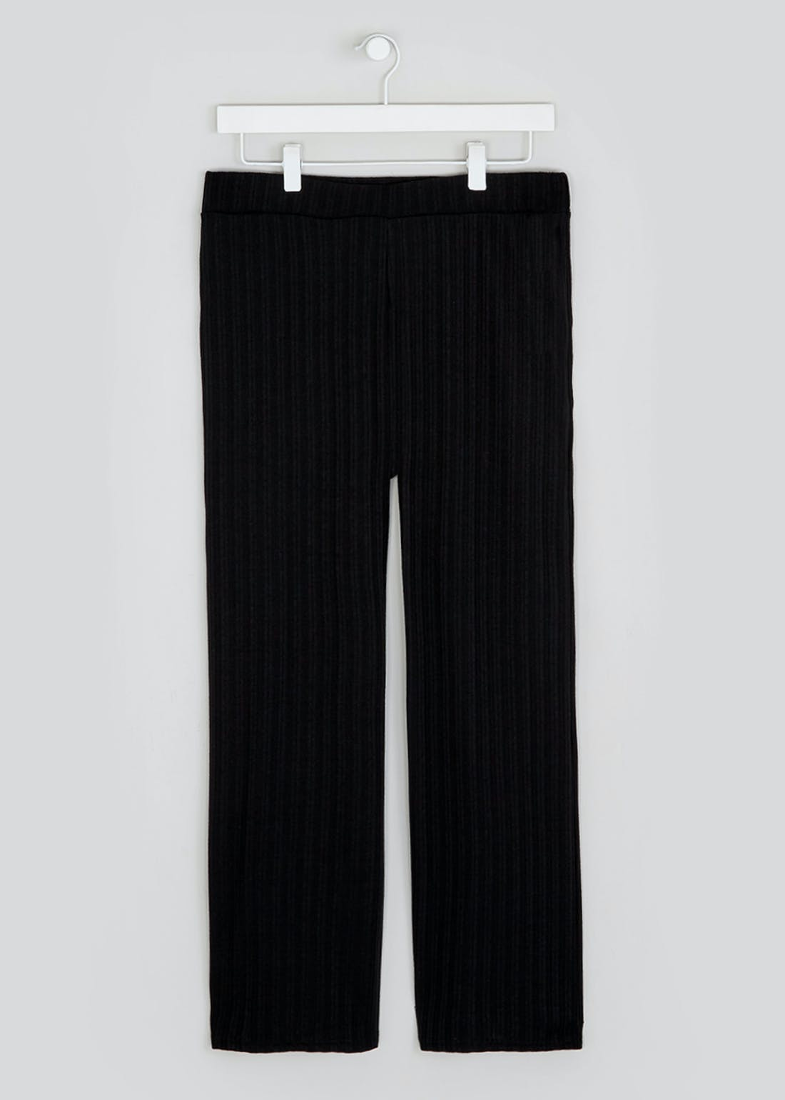 Papaya Petite Ribbed Co-Ord Trousers