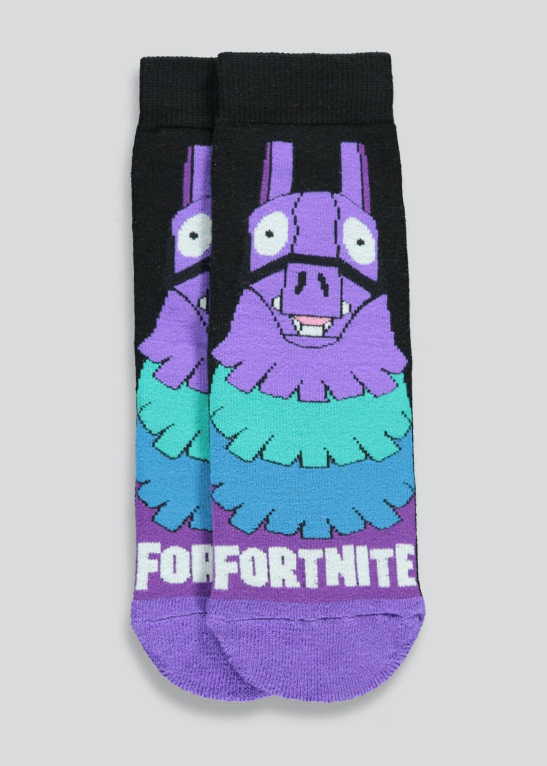 Kids Fortnite Slipper Socks (Younger 6-Older 6.5)