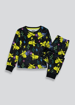 Kids Pokemon Fleece Pyjama Set (5-12yrs)