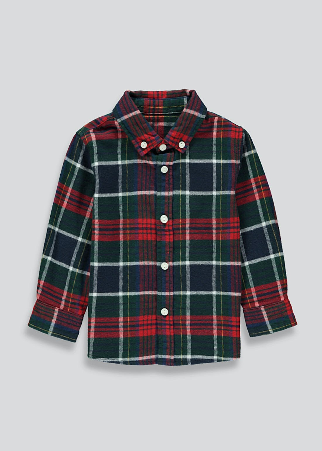 Boys Tartan Check Shirt (9mths-4yrs)