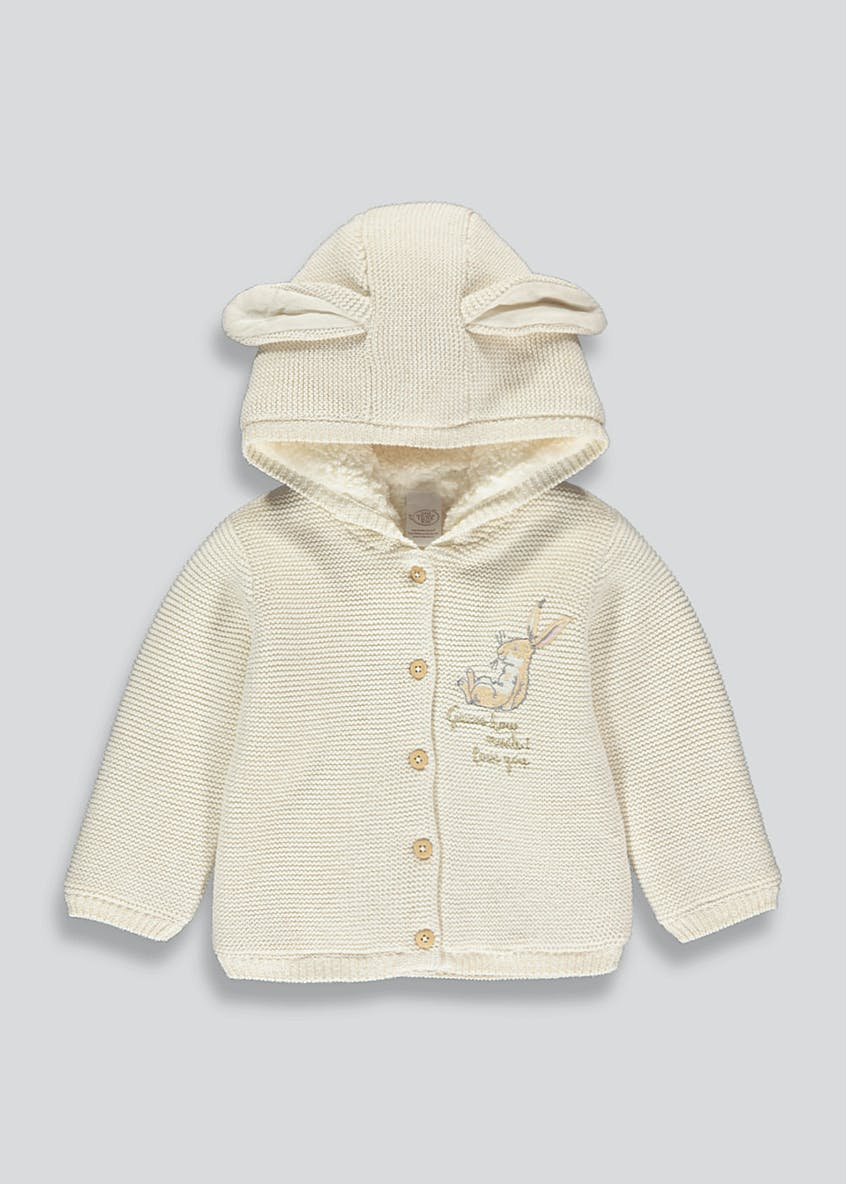 Unisex Guess How Much I Love You Hooded Cardigan (Newborn-12mths)