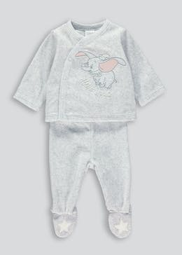 Unisex Dumbo Velour Set (Newborn-9mths)