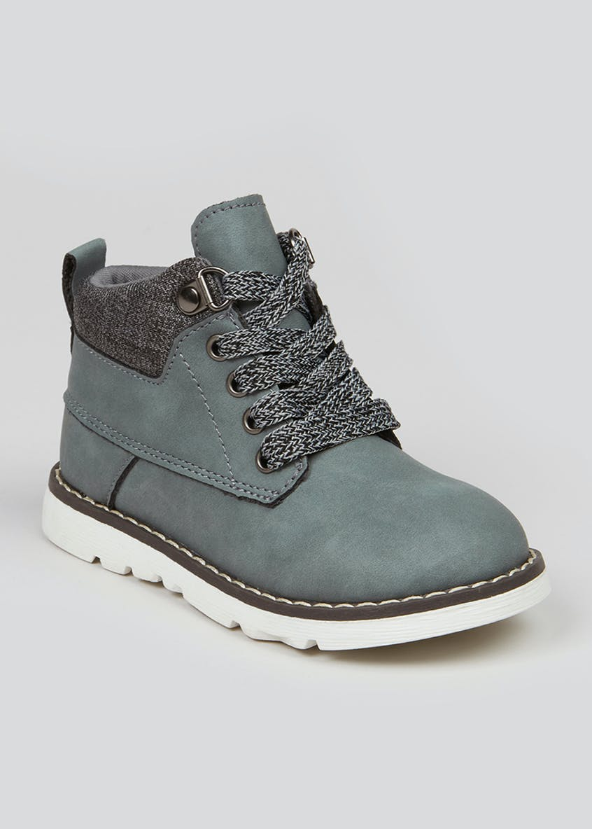 Boys Lace Up Fashion Boots (Younger 4-12)