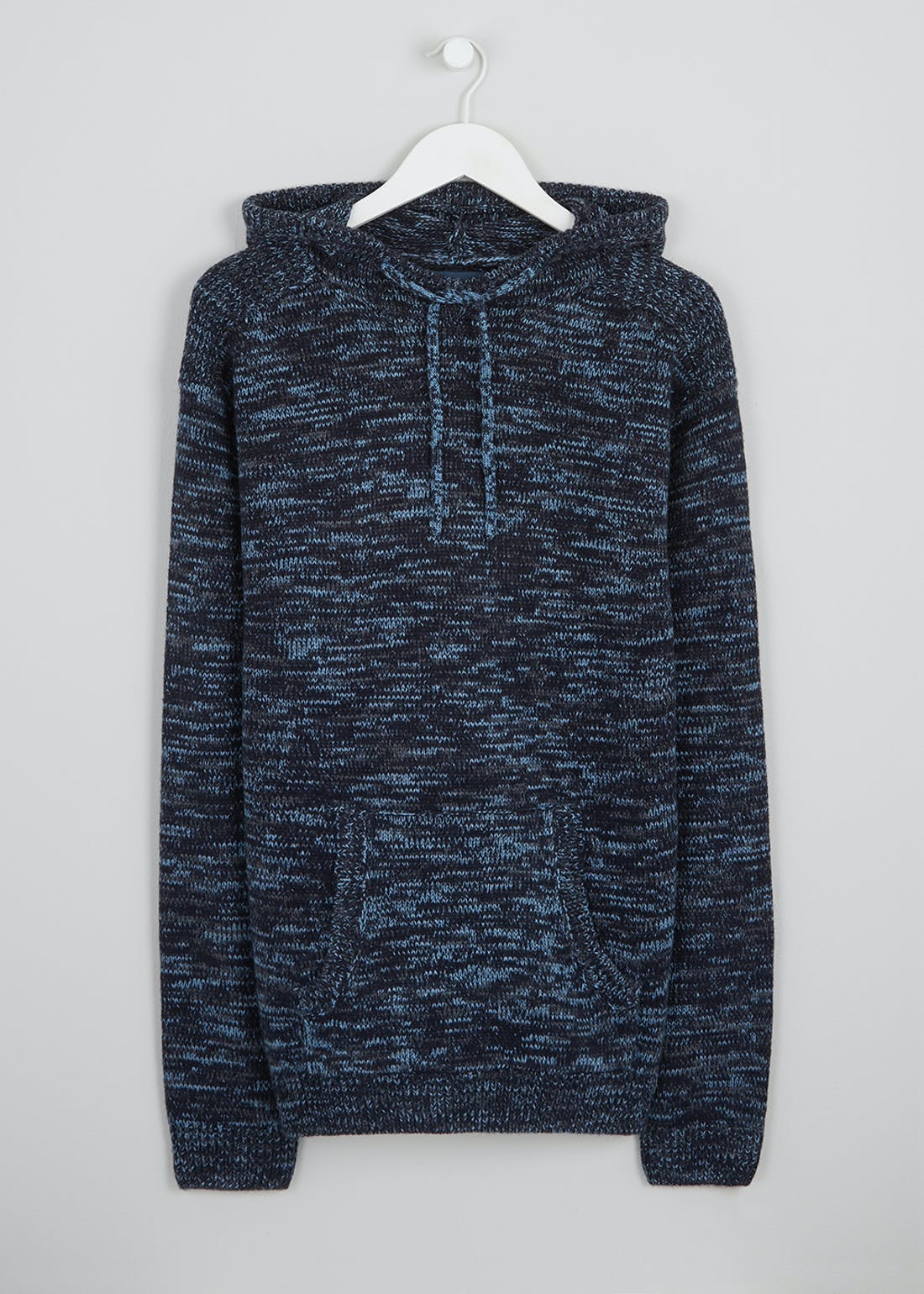 Big & Tall Chunky Knit Pull On Hoodie