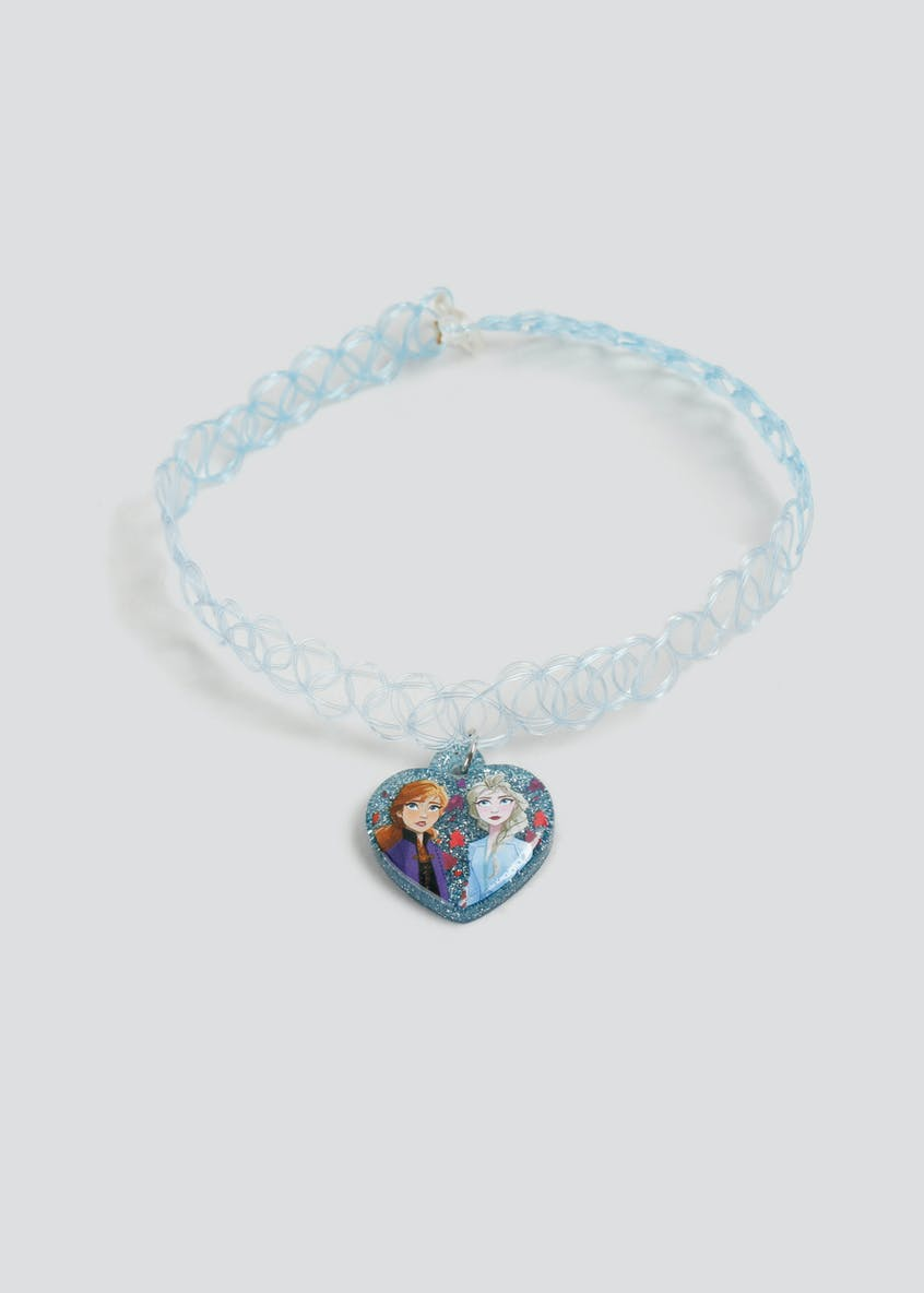 Girls Disney Frozen 2 Blue Tattoo Choker